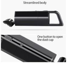 ABS Portable Quiet Vacuum Cleaner